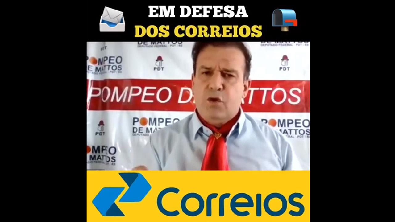 Deputado Pompeo de Mattos (PDT) diz NÃO AO PL 591!